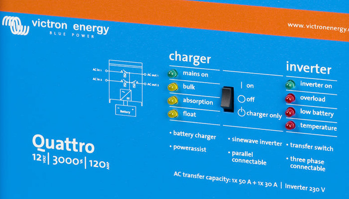 Chargers, Inverters and Marine AC installations