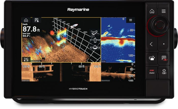 PRO RVX - Display with RealVision™ 3D Sonar and 1KW CHIRP sonar