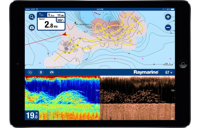 Navionics boating App & Sonarchart Live
