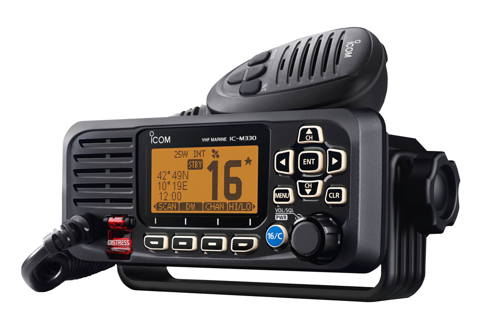 ICOM IC-M330GE VHF/DSC Marine Transceiver (With GPS Receiver)