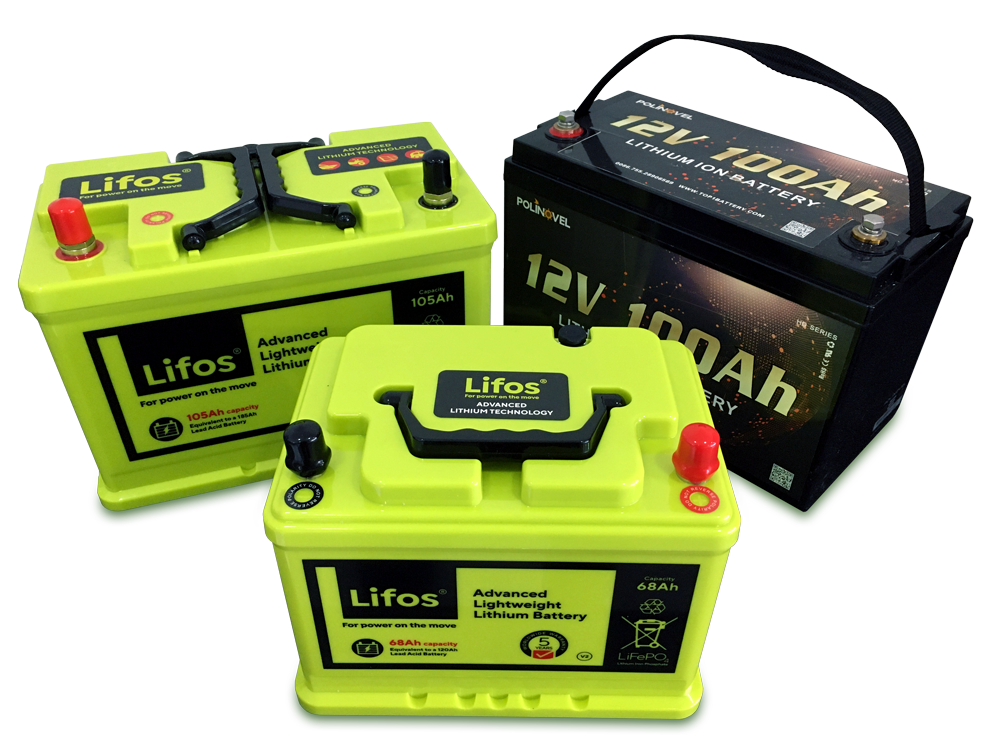 LiFEpo4 Batteries at Seapower Marine Electronics